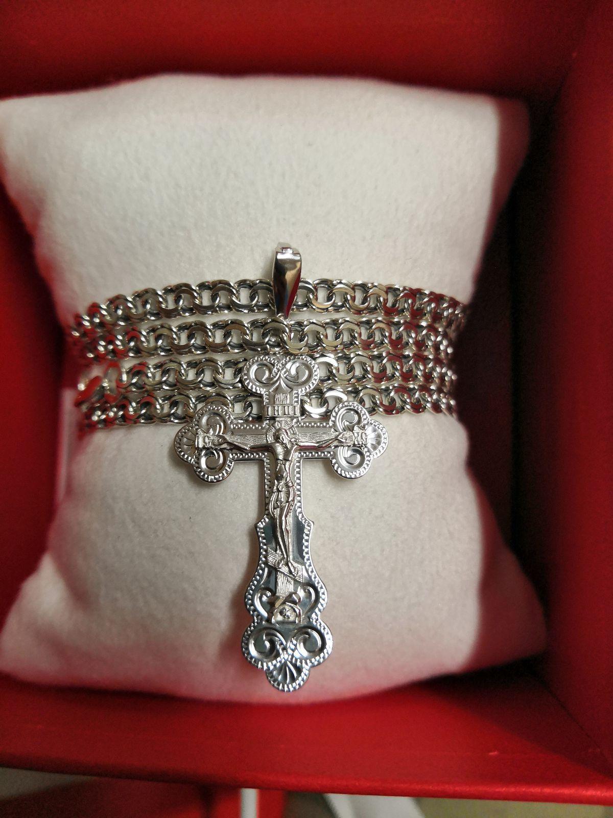 Крестик на подарок 🎁