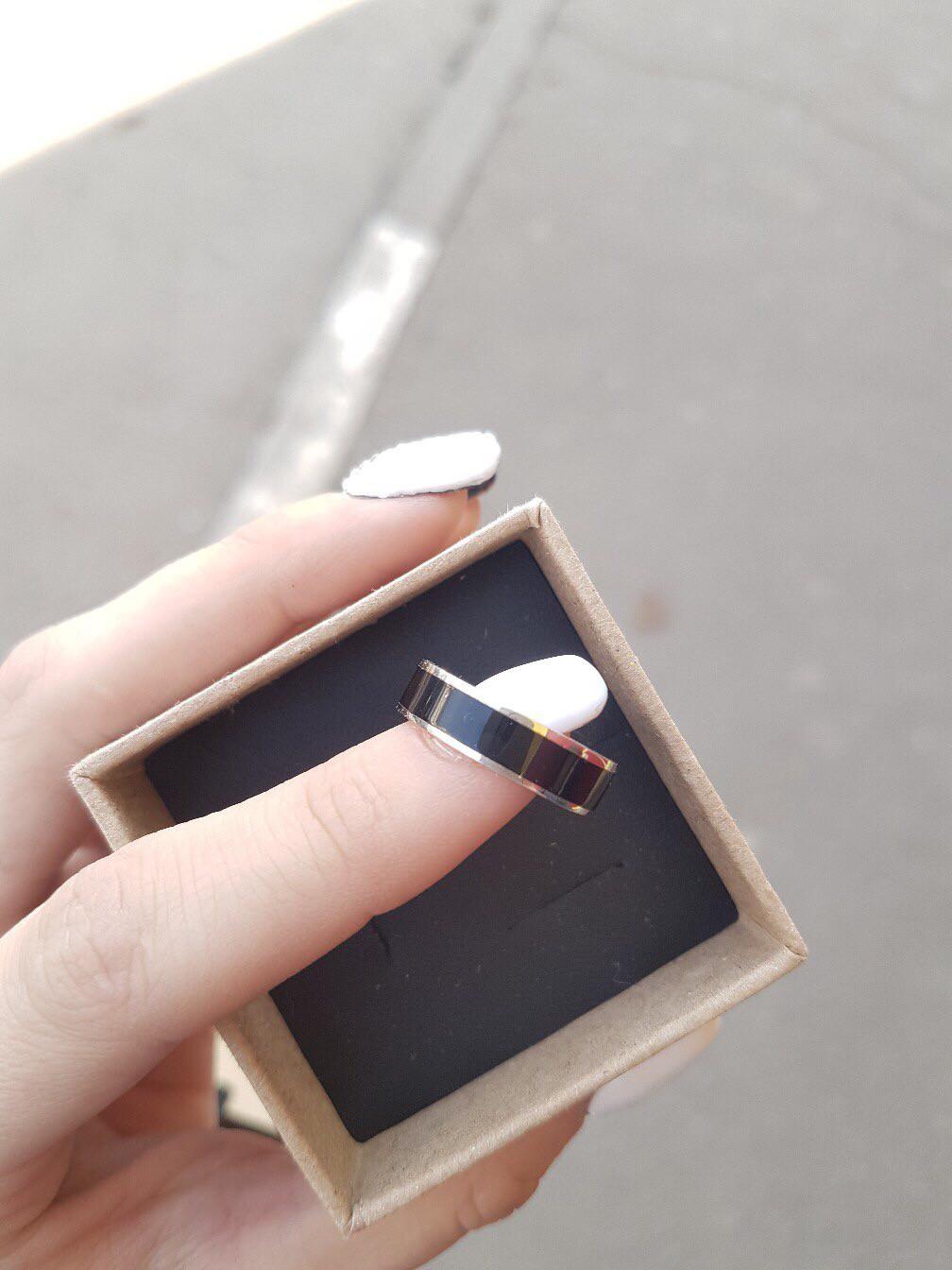 Отличное кольцо на годовщину молодому человеку