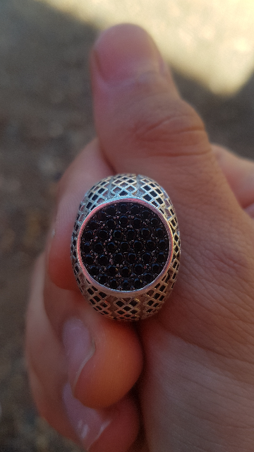 Кольцо на троечку