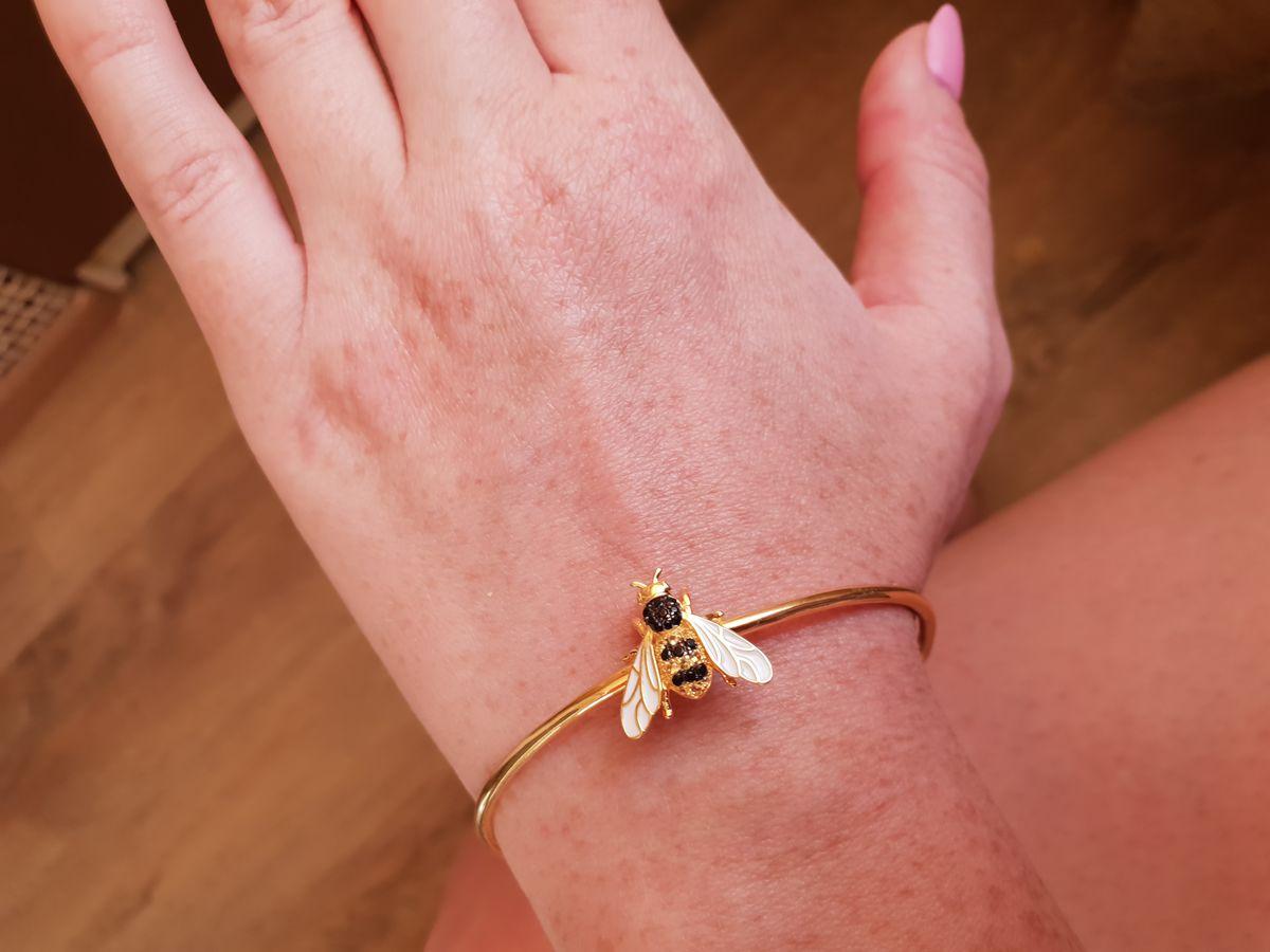 Браслет пчелка