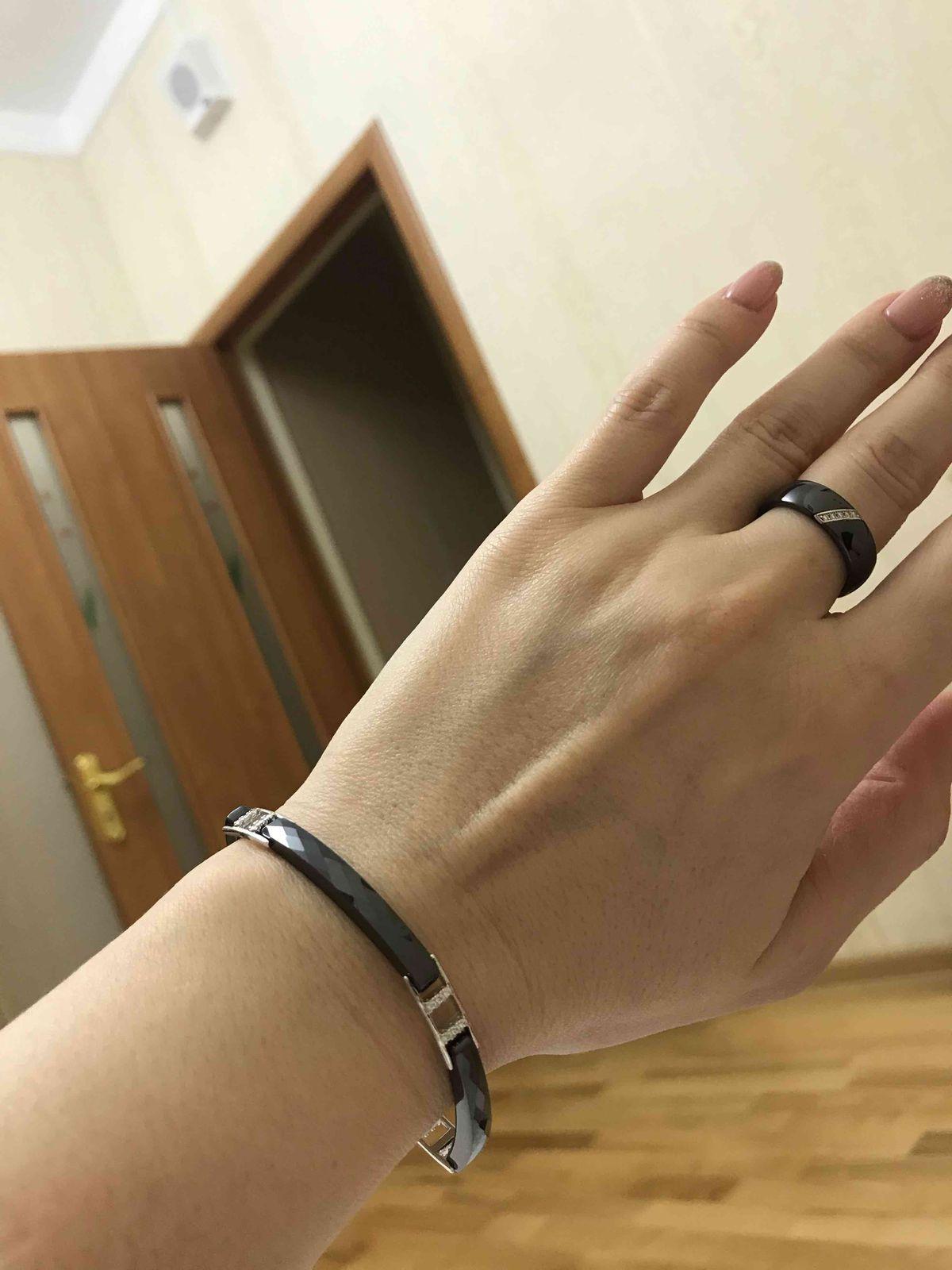 Кольцо очень аккуратное!