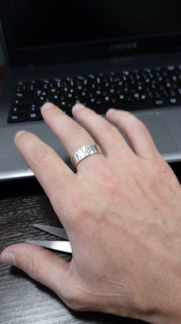 Спасибо, что снова появилось кольцо в продаже!