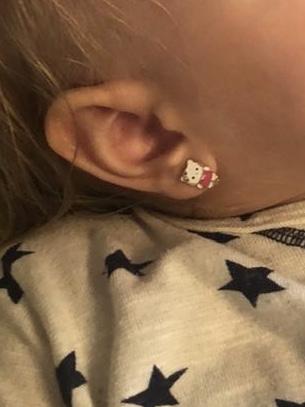 Красивые и аккуратные Hello Kitty на 18 мес дочку!