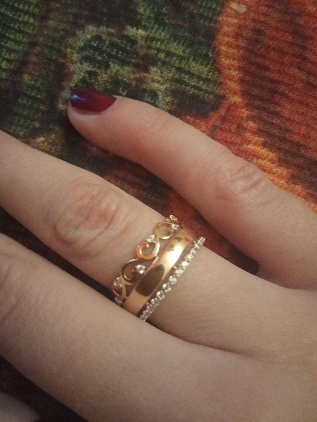 Эффектное кольцо за скромную цену