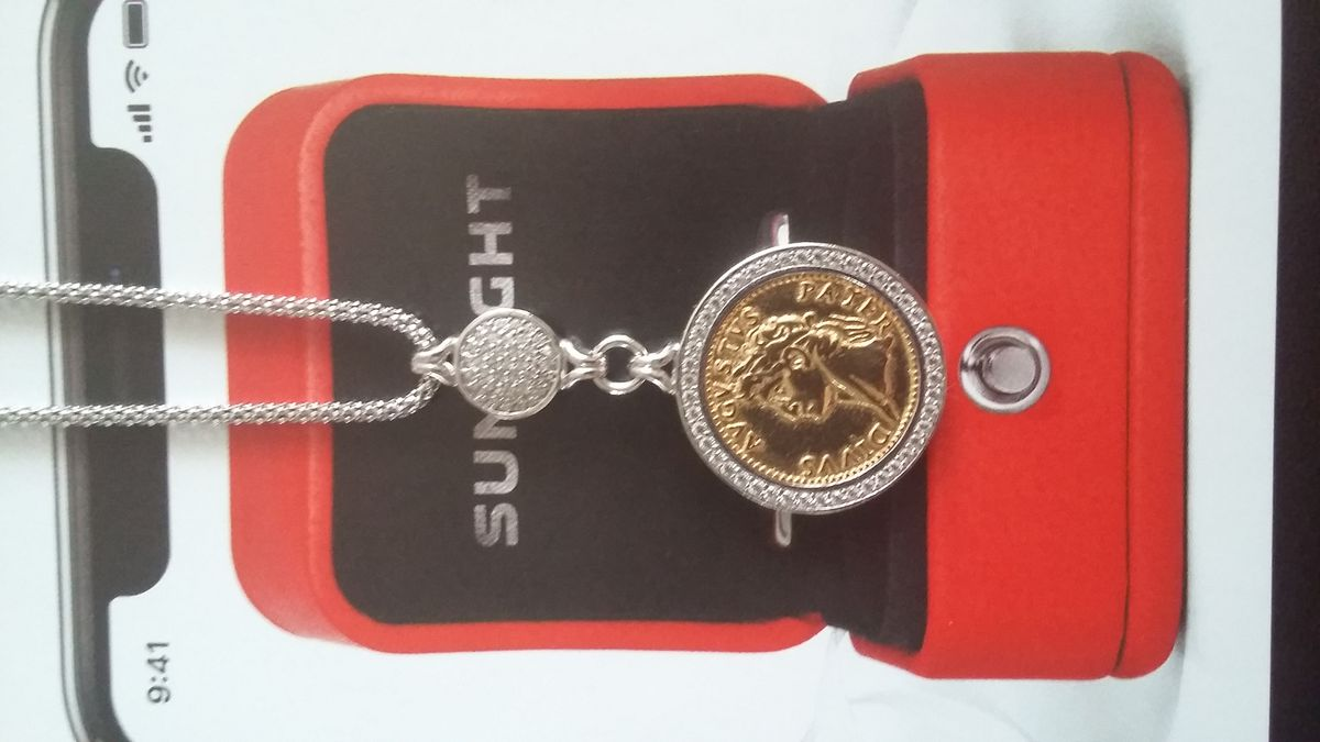 Серебряное шейное украшение из коллекции Amalfi