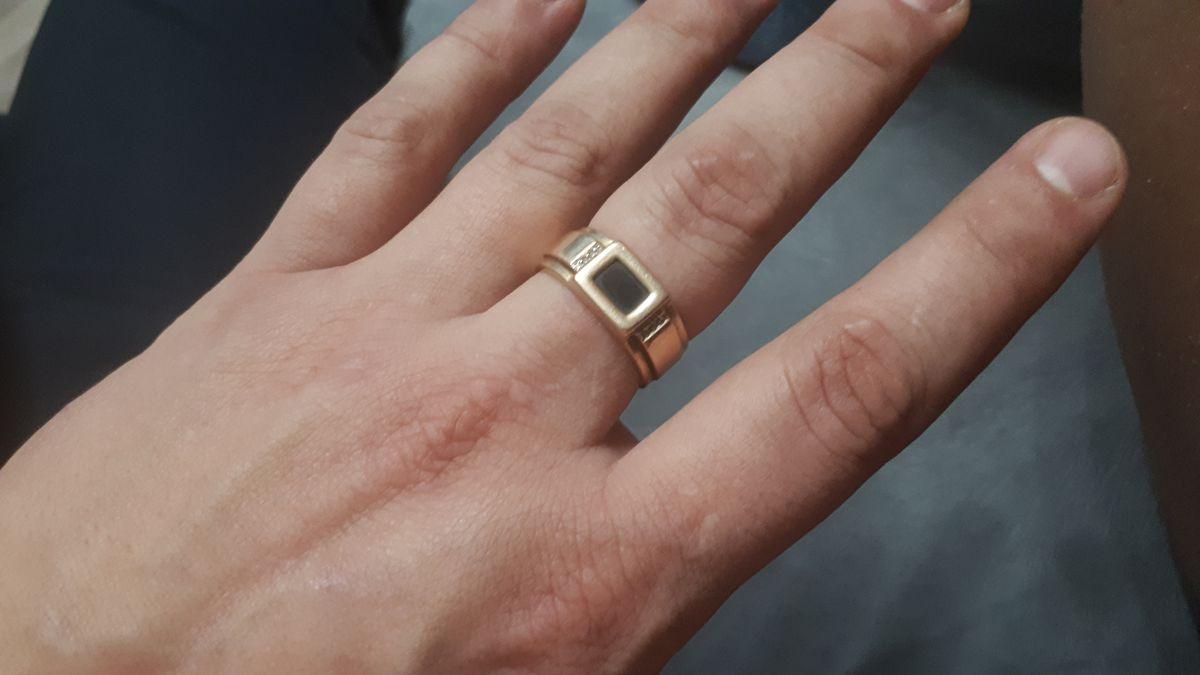 Кольцо, печатка мужская