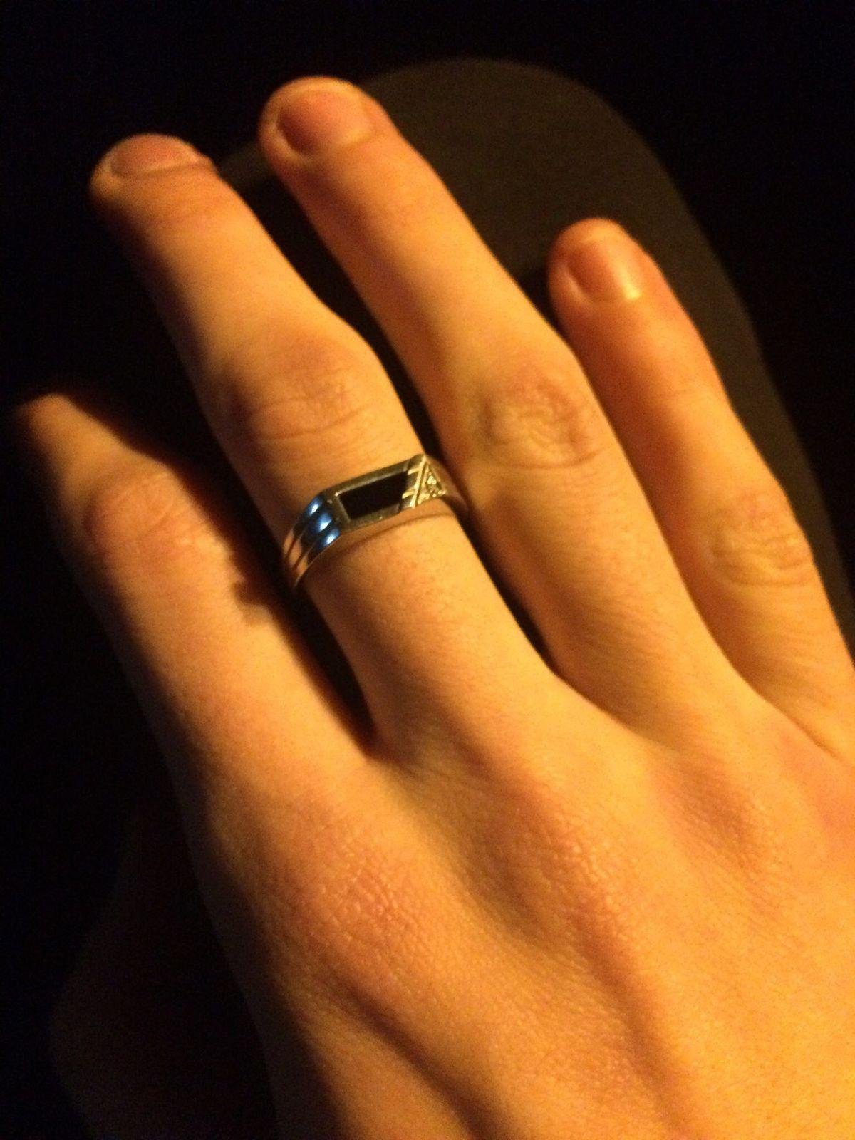 Очень давно захотел данное кольцо и купив его совсем не пожалел