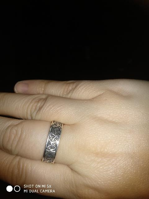 Этническое кольцо.