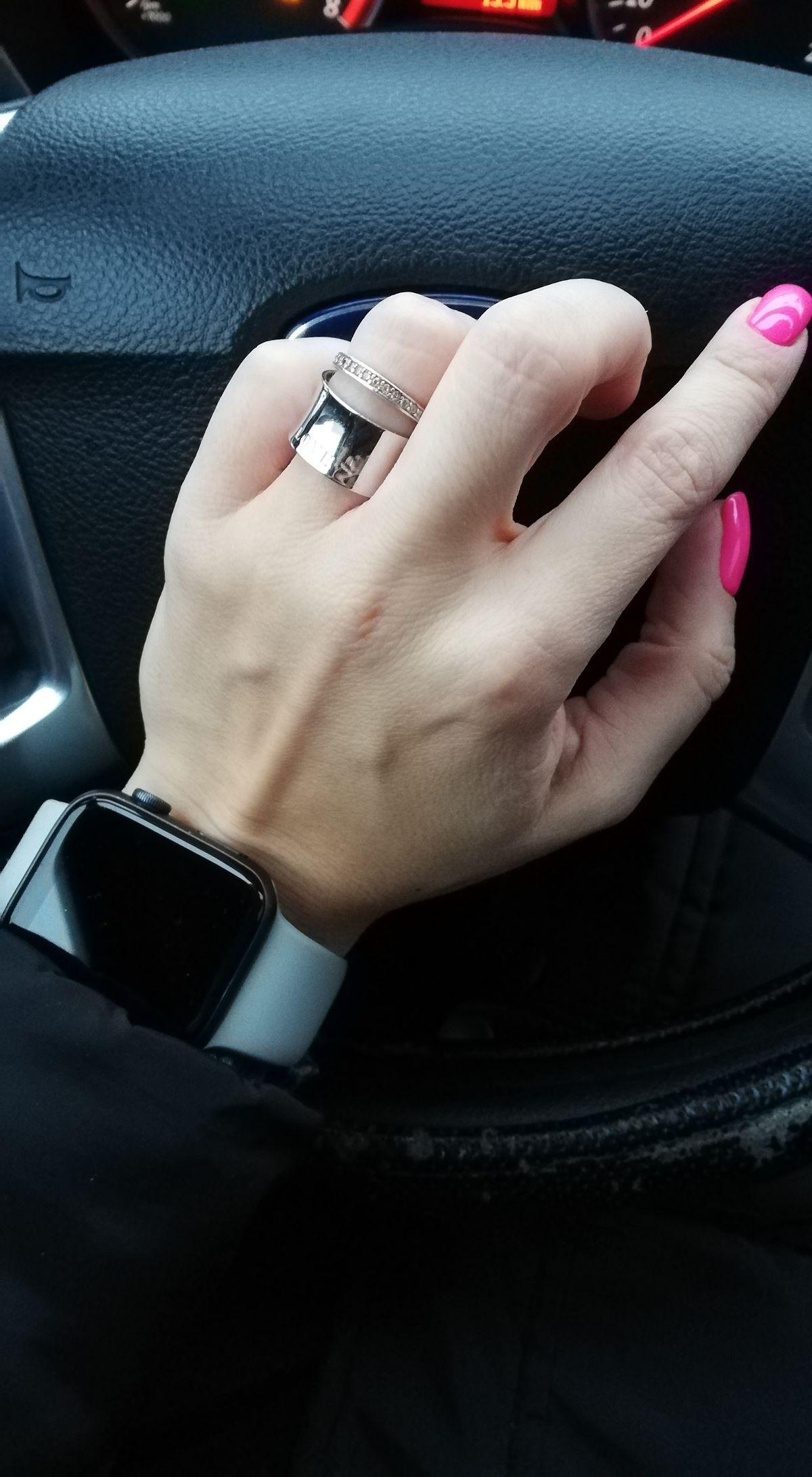 Стильное кольцо 💍