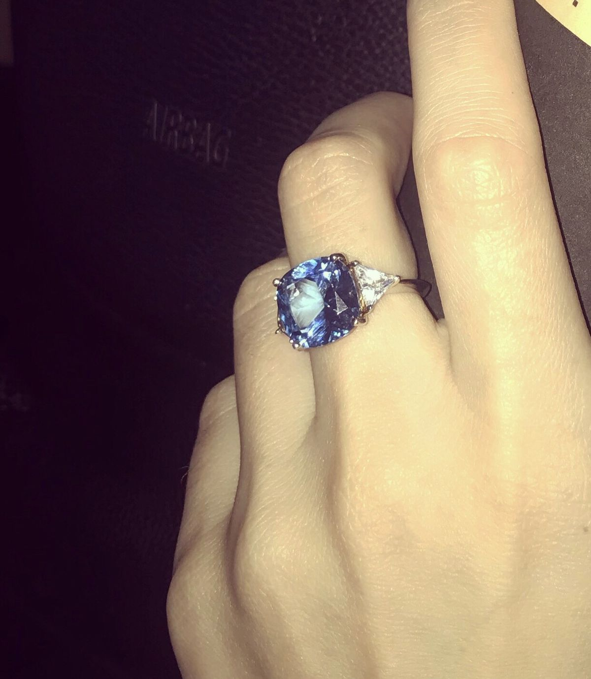 Невероятно эффектное кольцо