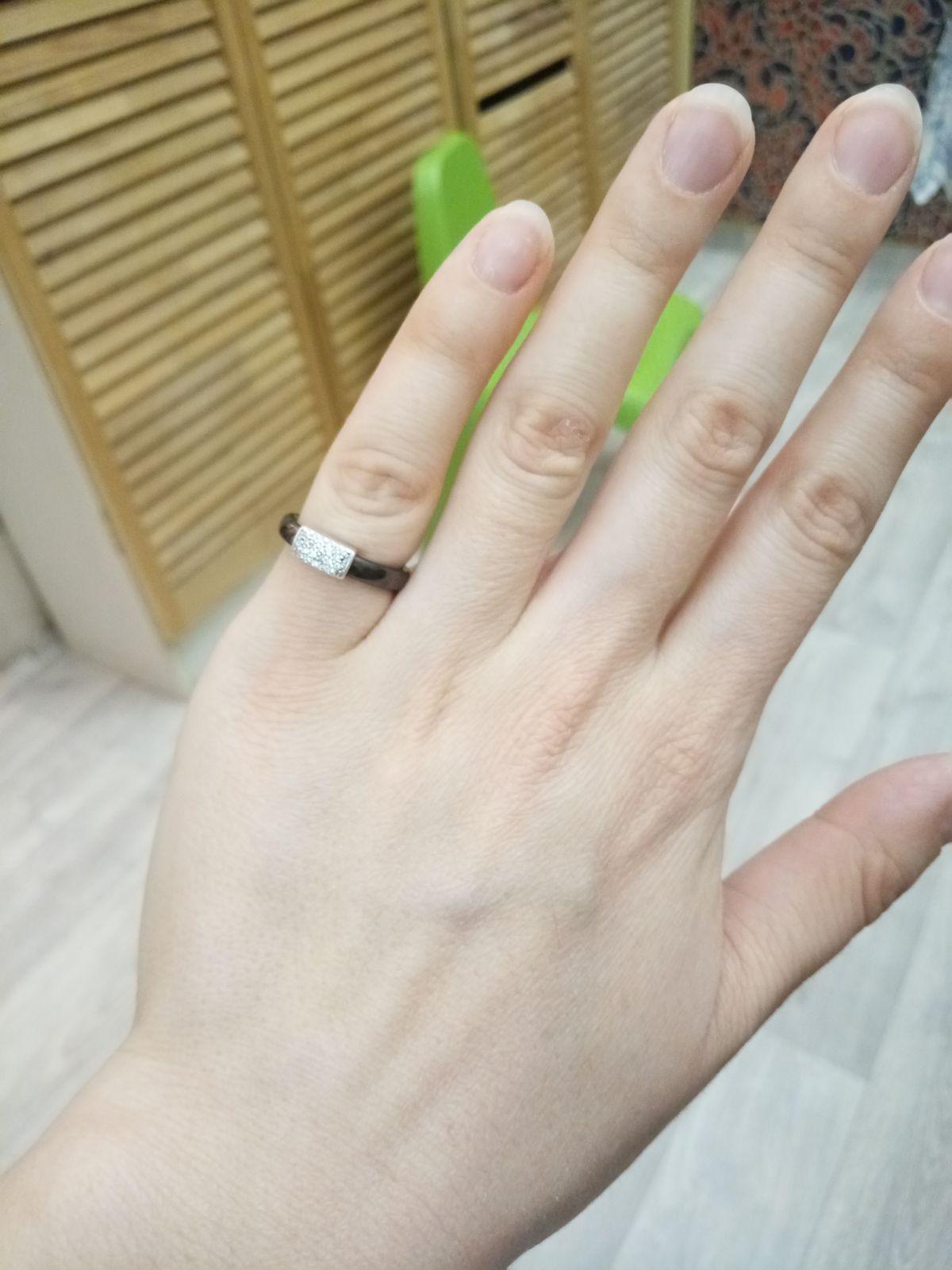Мое первое керамическое кольцо