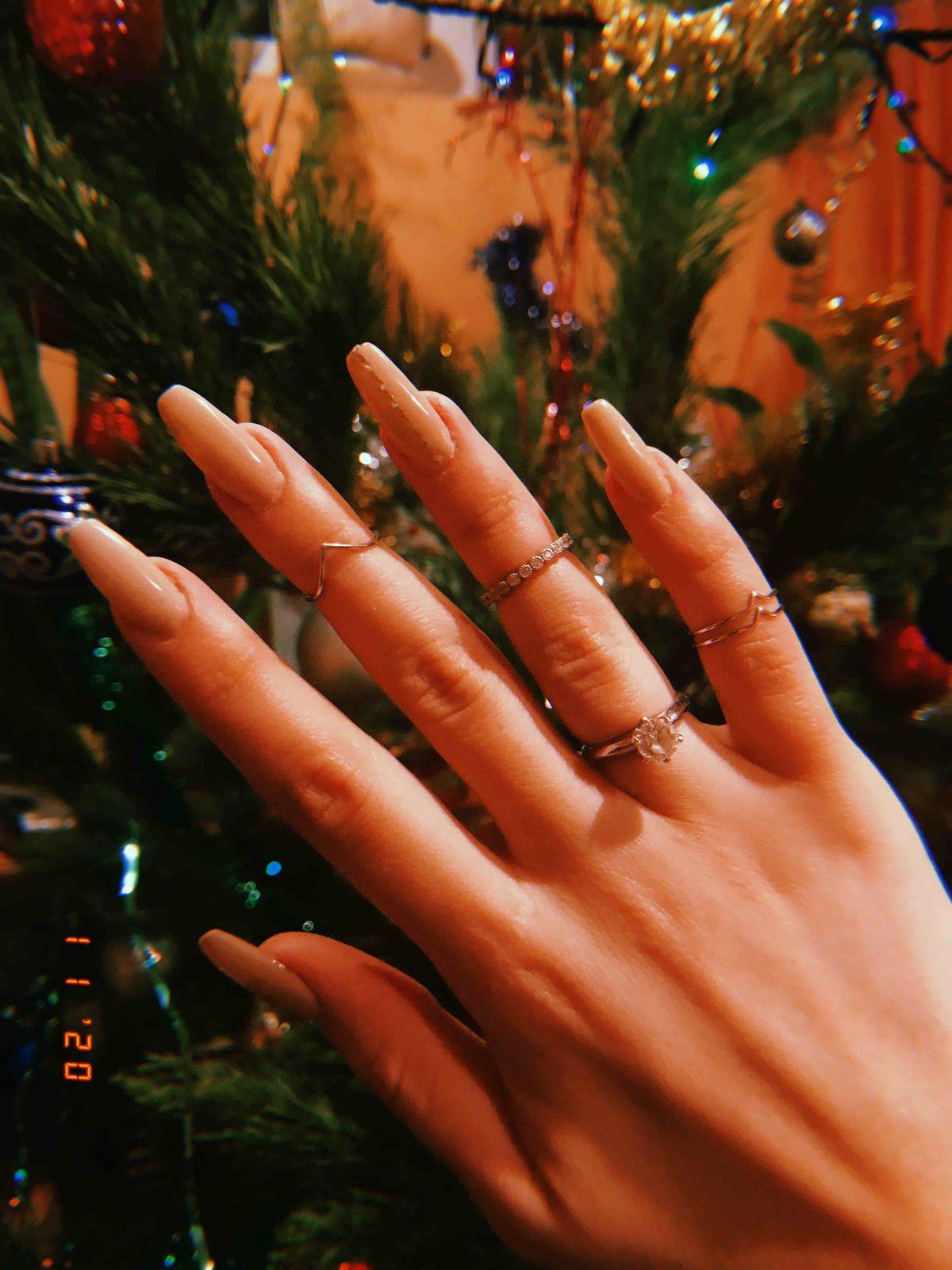Отличное кольцо на фалангу пальца!
