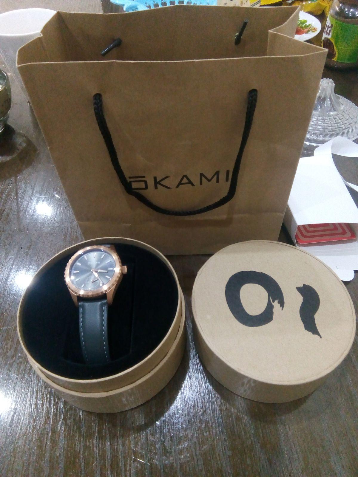 Часы Оkami