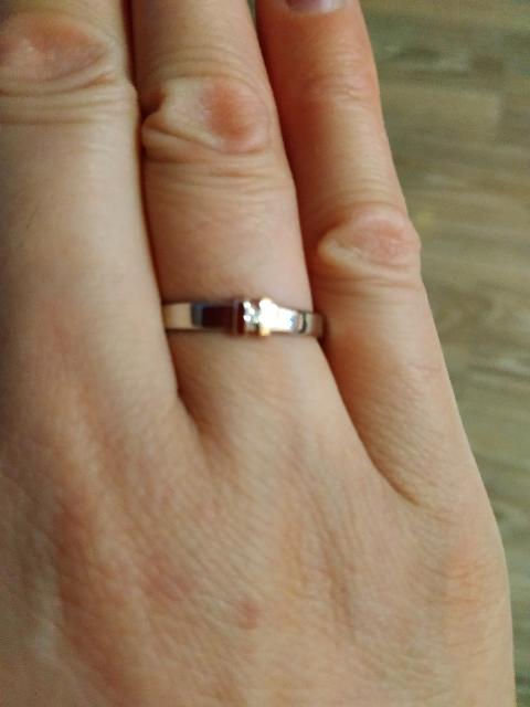 Милое, изящное кольцо.