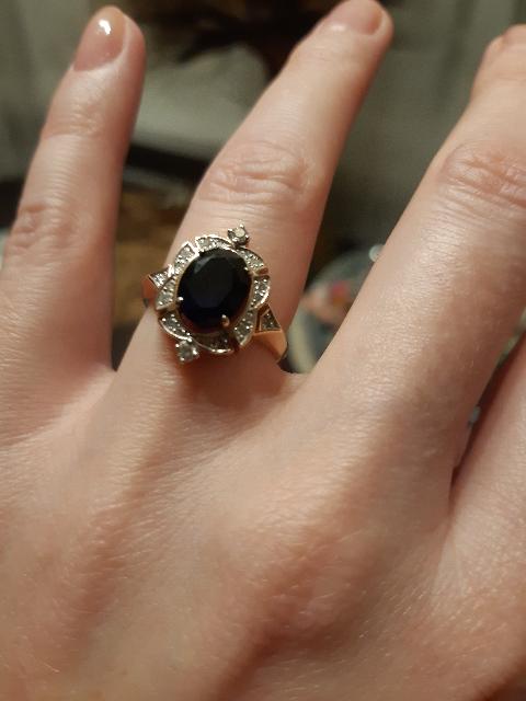 Кольцо просто божественное