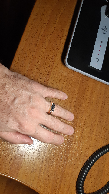 Кольцо с фианатами