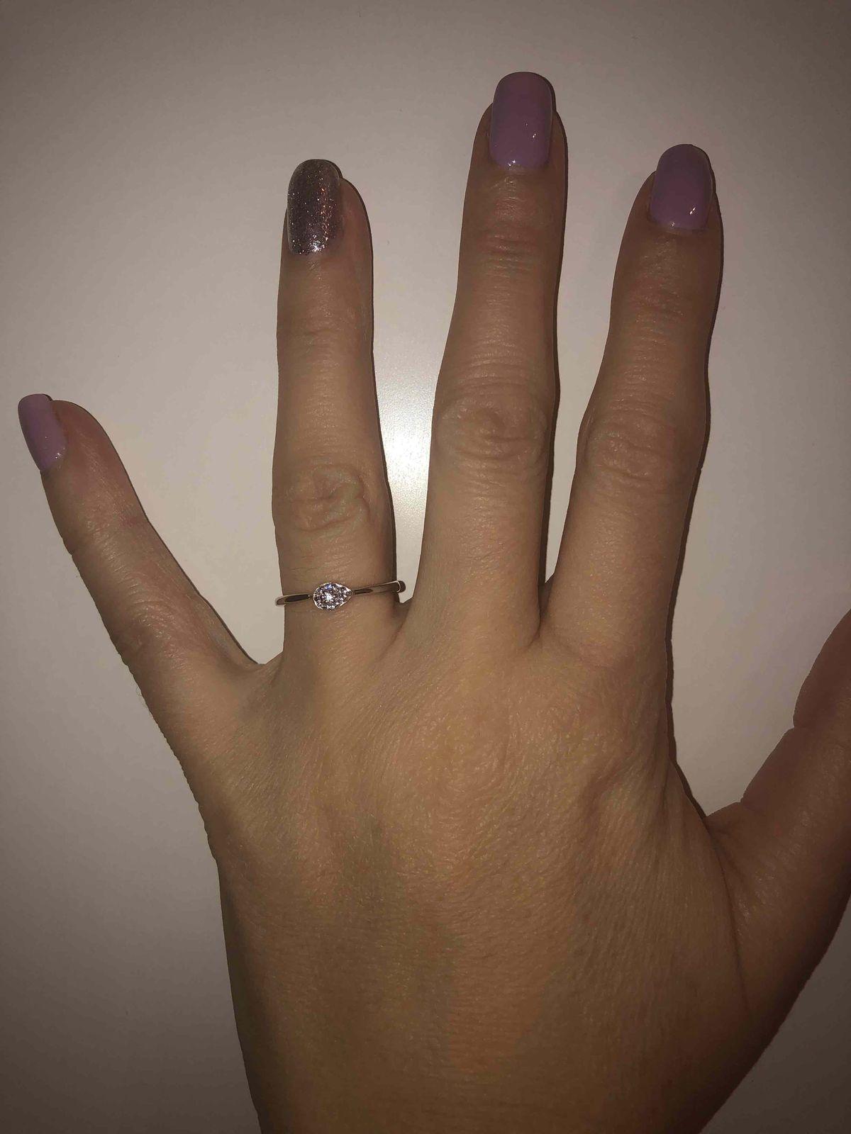 Моё идеальное кольцо и идеальный выбор, самый лучший магазин и обслуживание