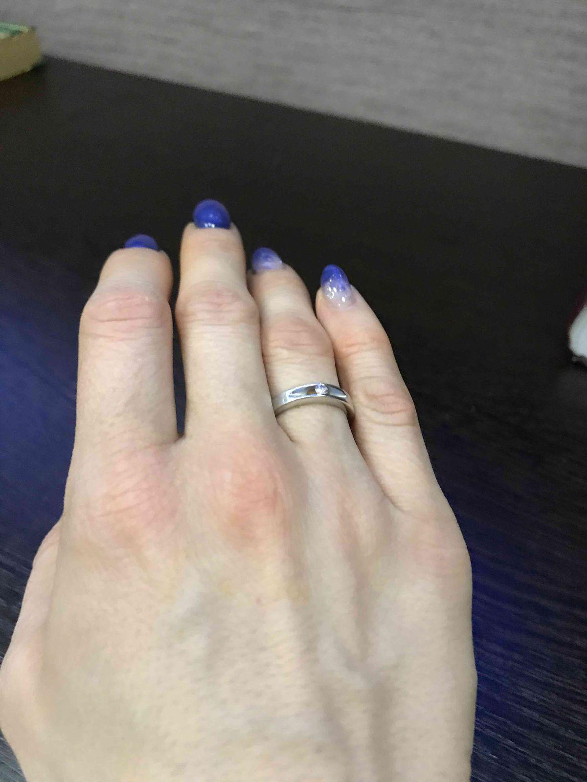 Обручально кольцо!