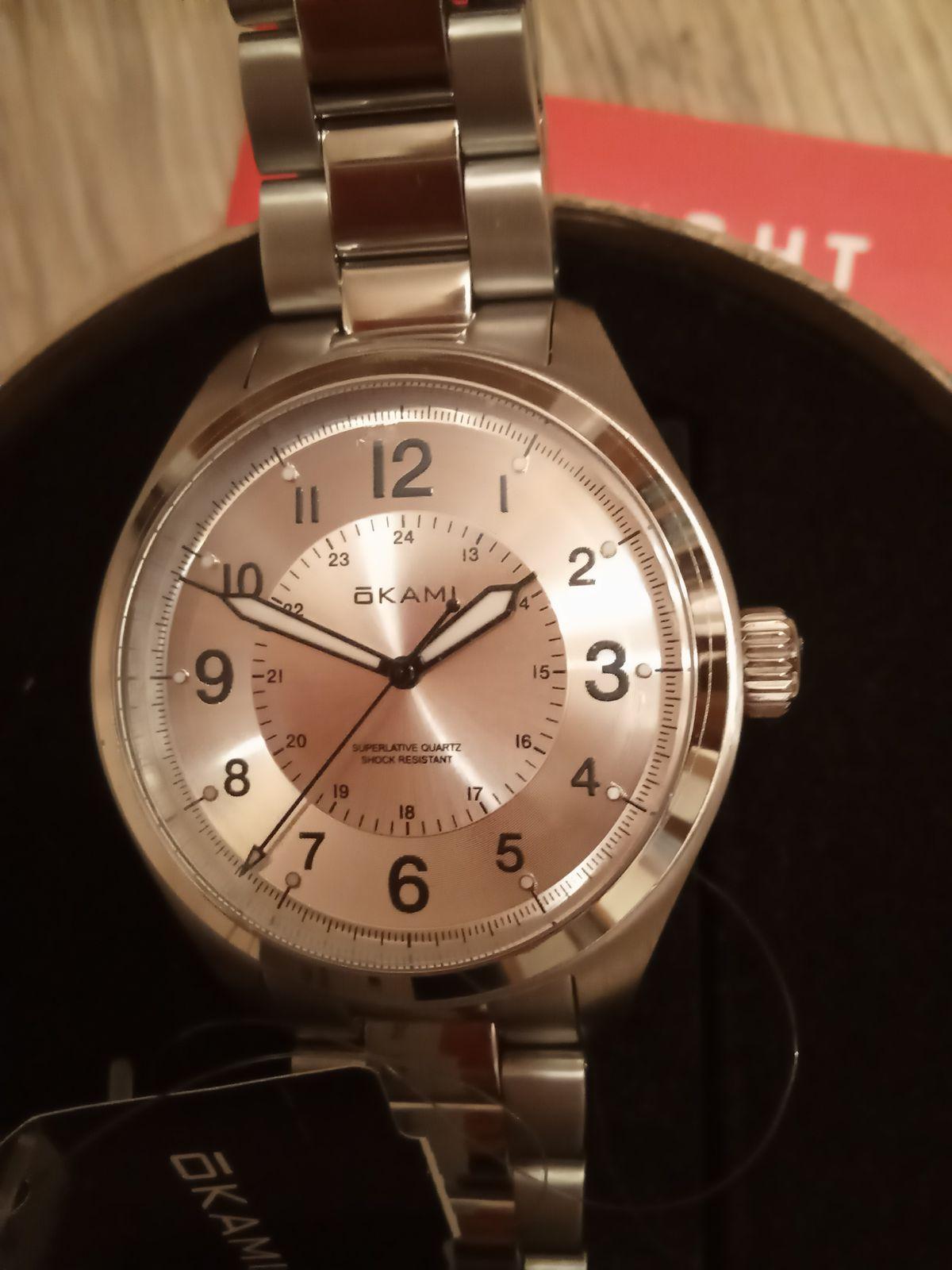 Мужские часы Okami, мужу в подарок на 23 февраля