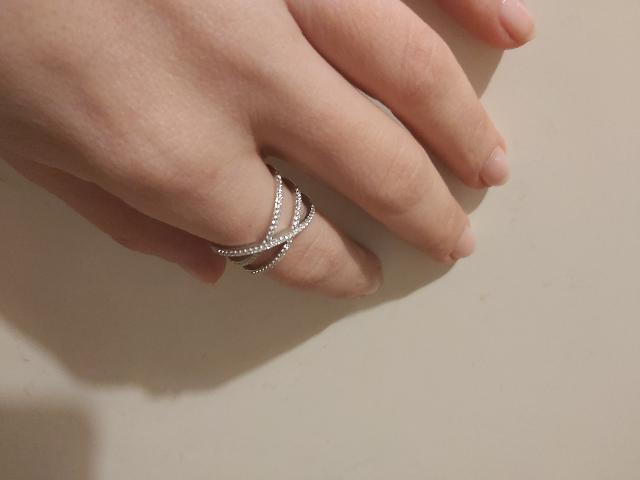 Кольцо было позиционировано, как серебро