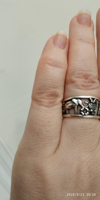 Кольцо с символами