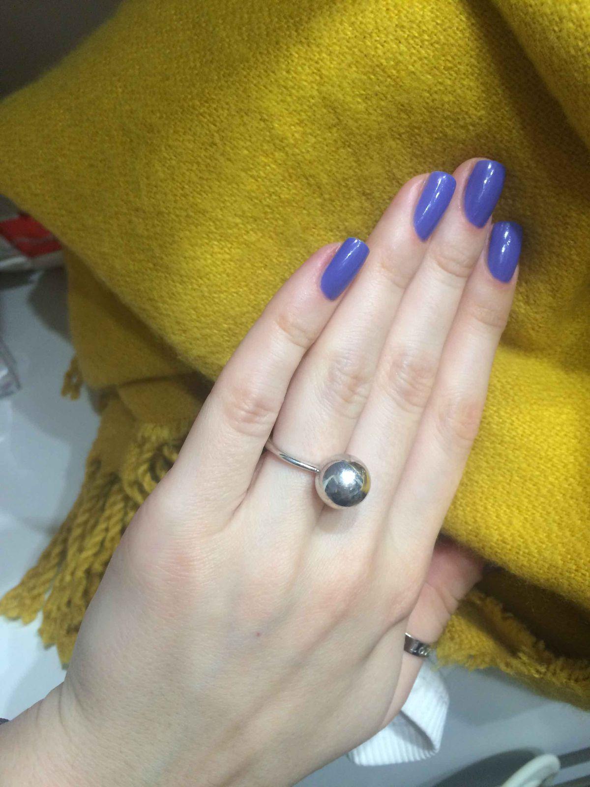 Сфера на пальчике