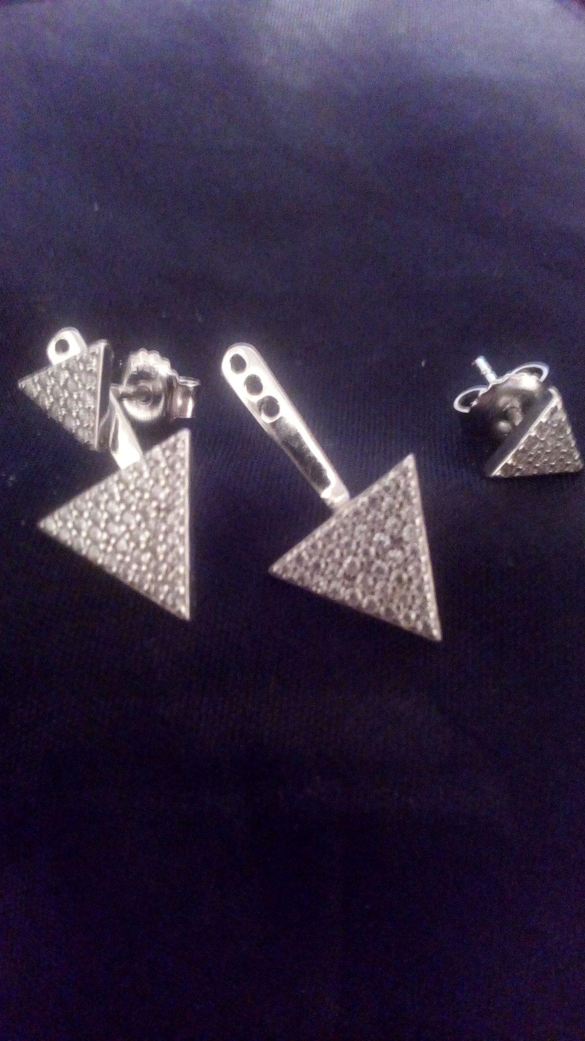 Серебряные треугольники.