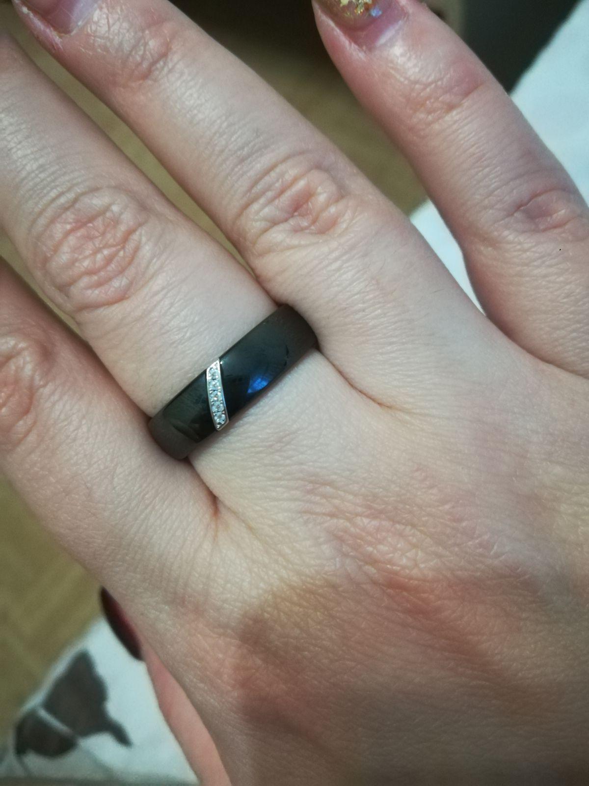 Кольцо 💍 керамическое