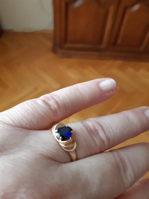 Купила комплект кольцо и серёжки по  скидке в подарок дочери к 8 Марта.