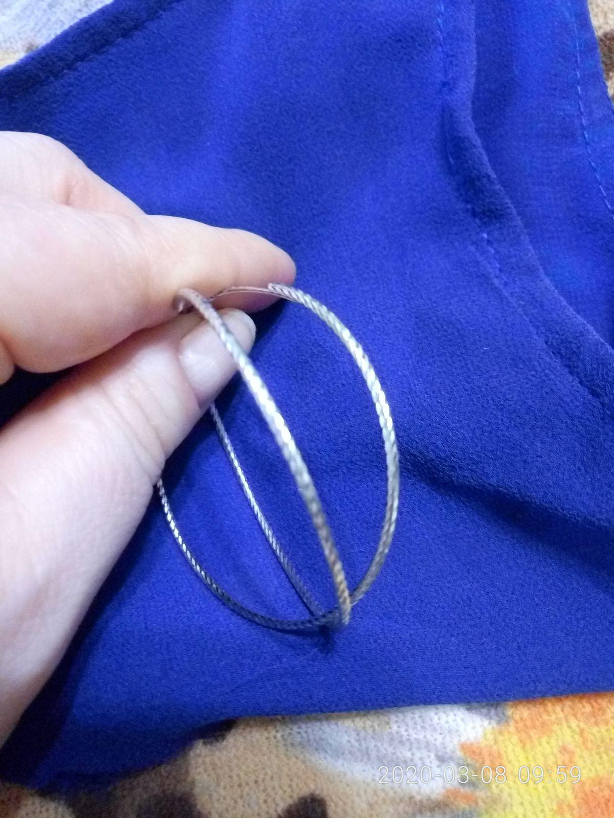 Серьги-кольца создающие новый образ!