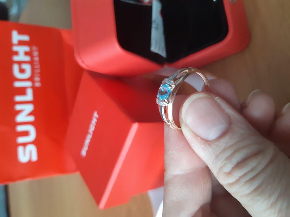 Обалденное кольцо с Топазом