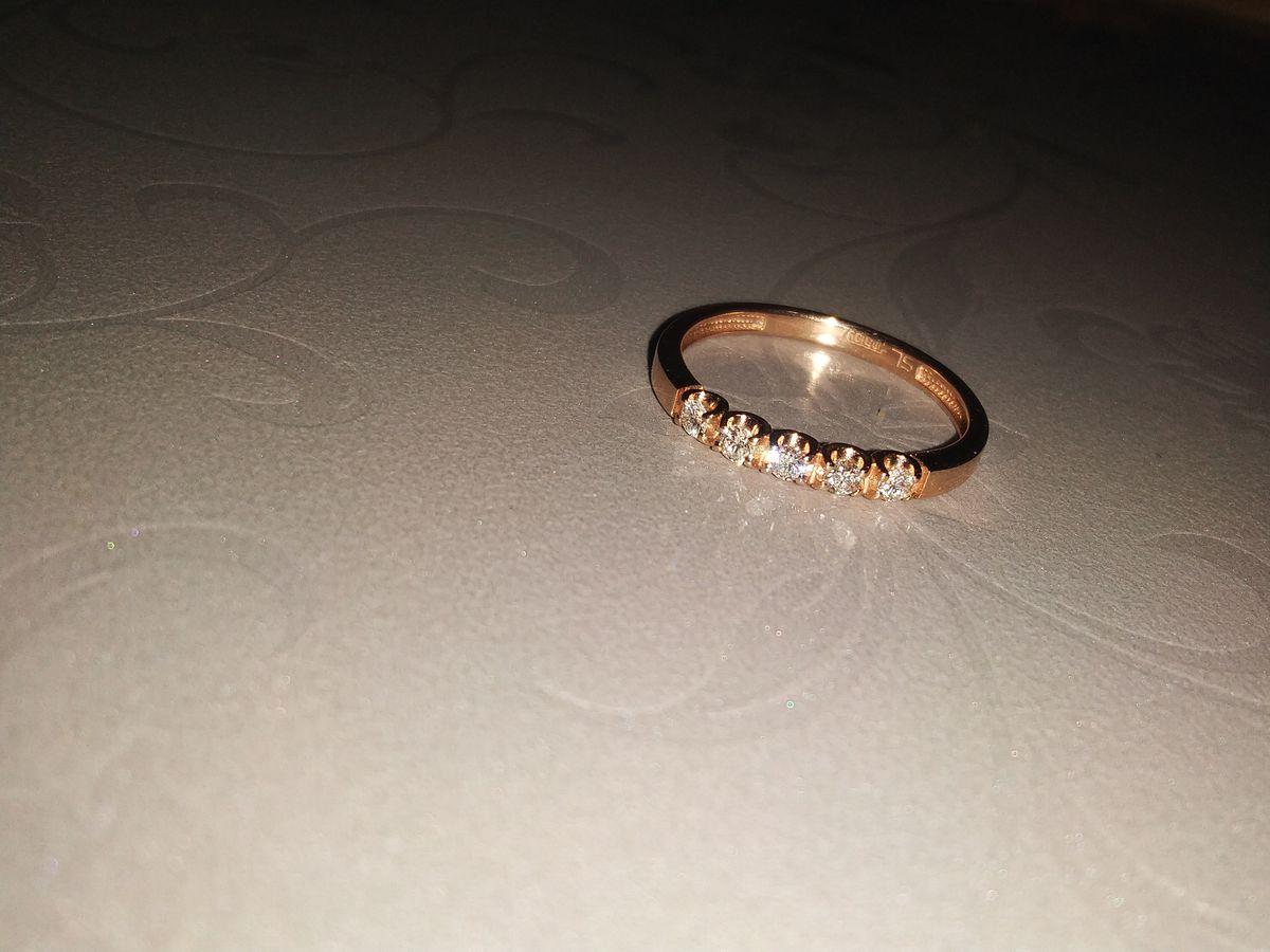 Мое первое Бриллиантовое колечко