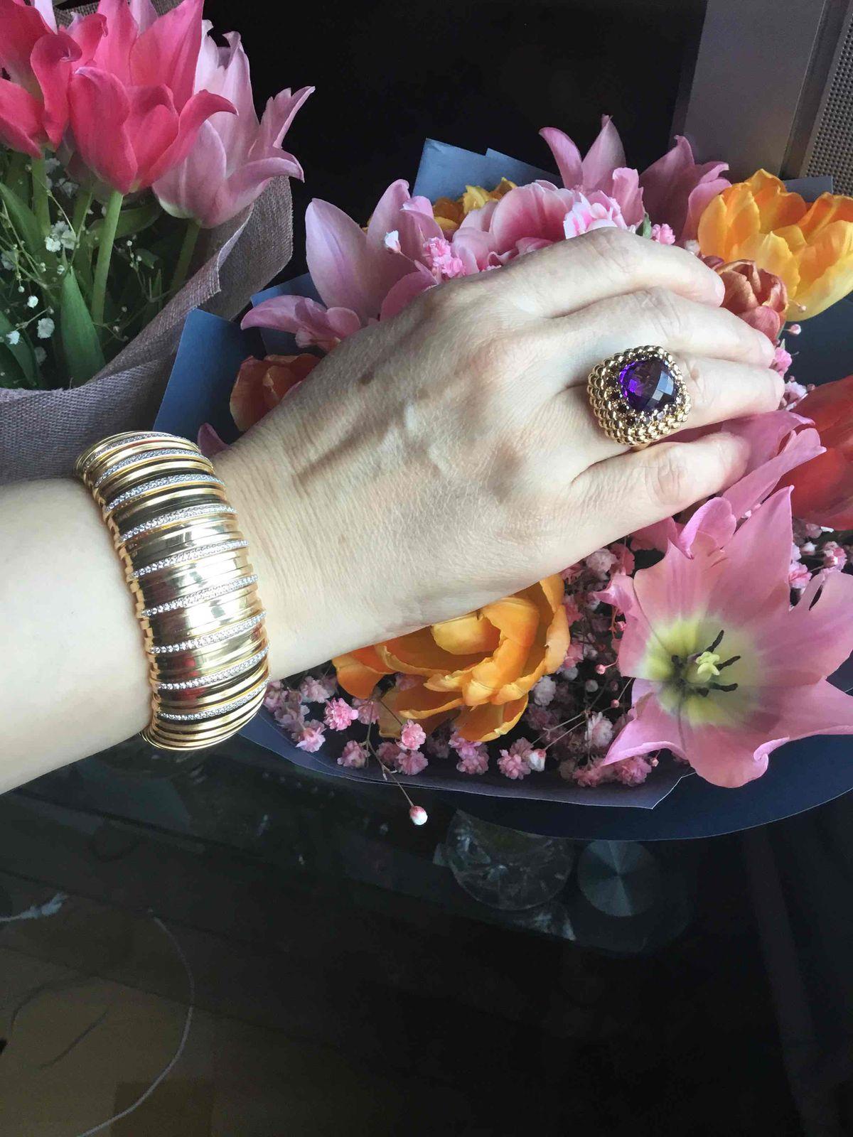 Шикарное итальянское кольцо