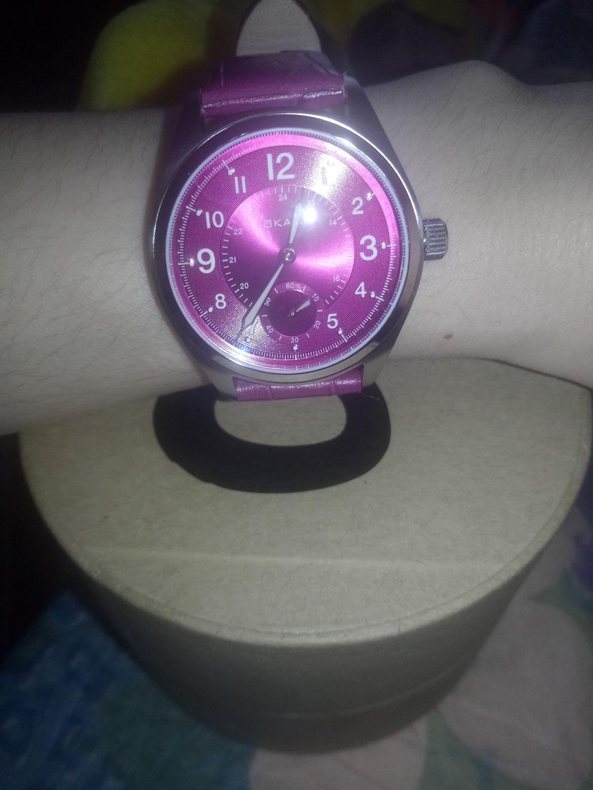 Огромное спасибо за такие замечательные часы, отличный дизайн.