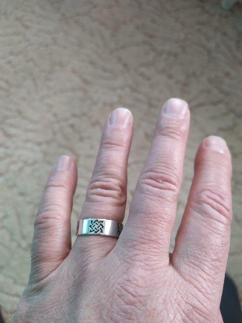 Отличное кольцо-оберег!!!