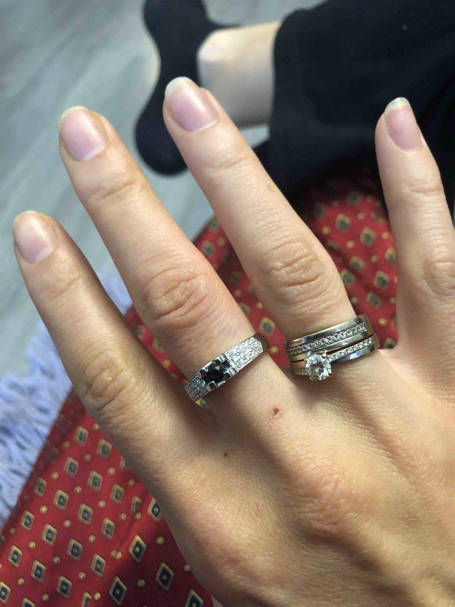 Отлично смотрится кольцо