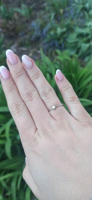 Очень женственное кольцо