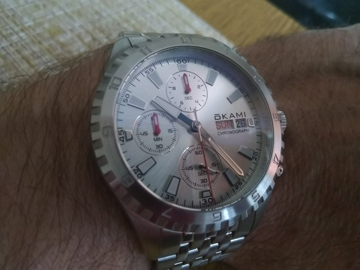"Часы коллекции ""BEAR CHRONO"" от OKAMI"