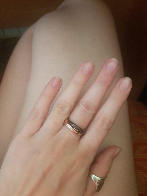 Кольцо прекрасное, но размер больше стандарта