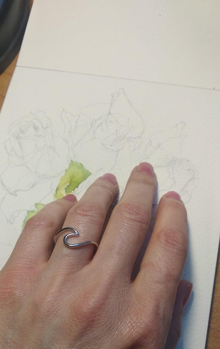 Нежное кольцо на каждый день!