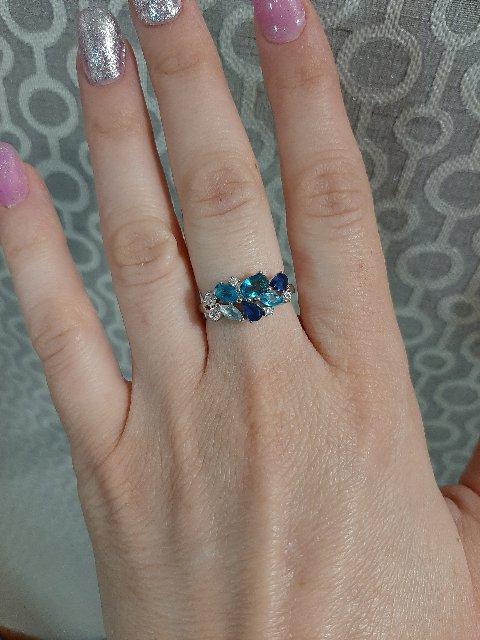 Кольцо роскошное