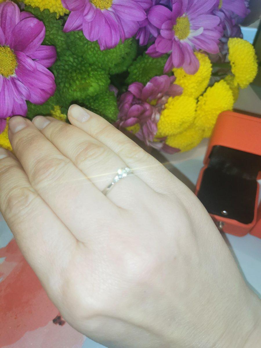 Красивое и милое кольцо