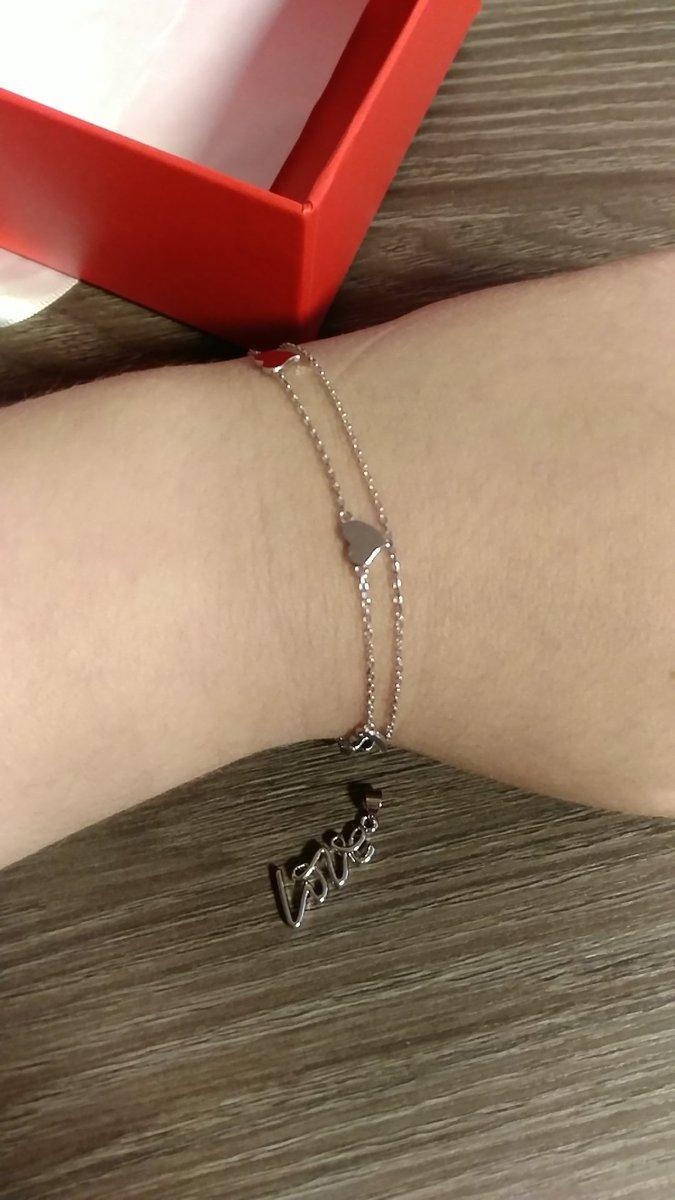 Заказала онлайн серебряный браслет.