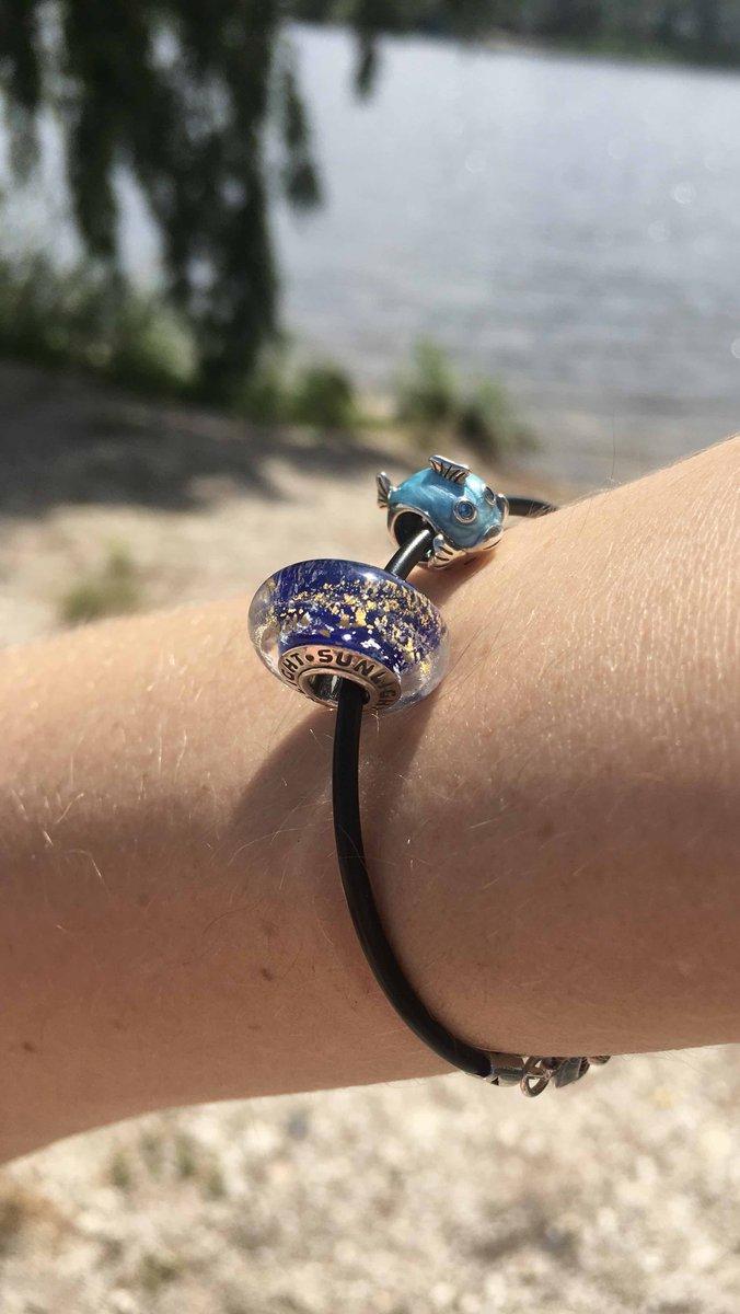 Рыбка с перламутровой ,голубой эмалью