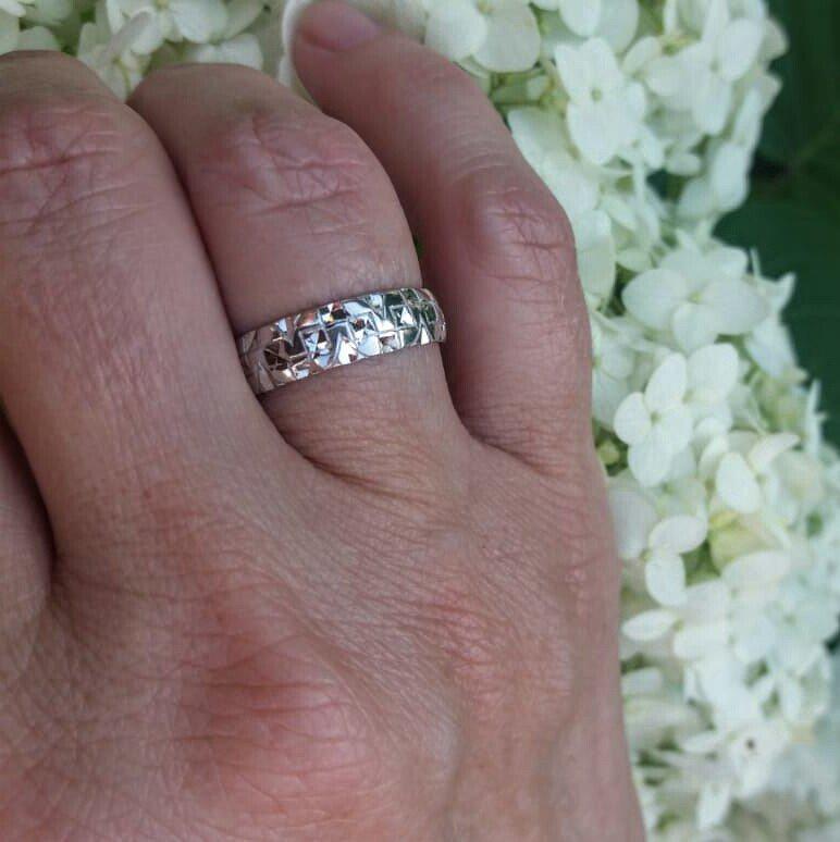 Серебряное кольцо православное