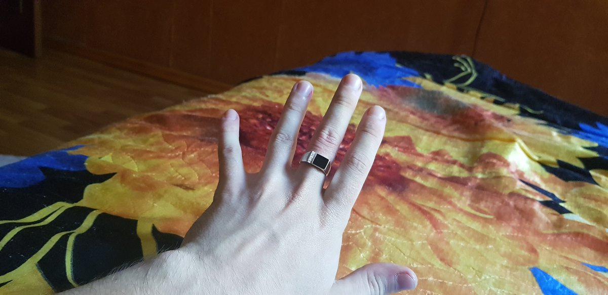 Кольцо подошло