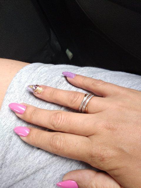 Набором серьги и кольцо смотрятся супер
