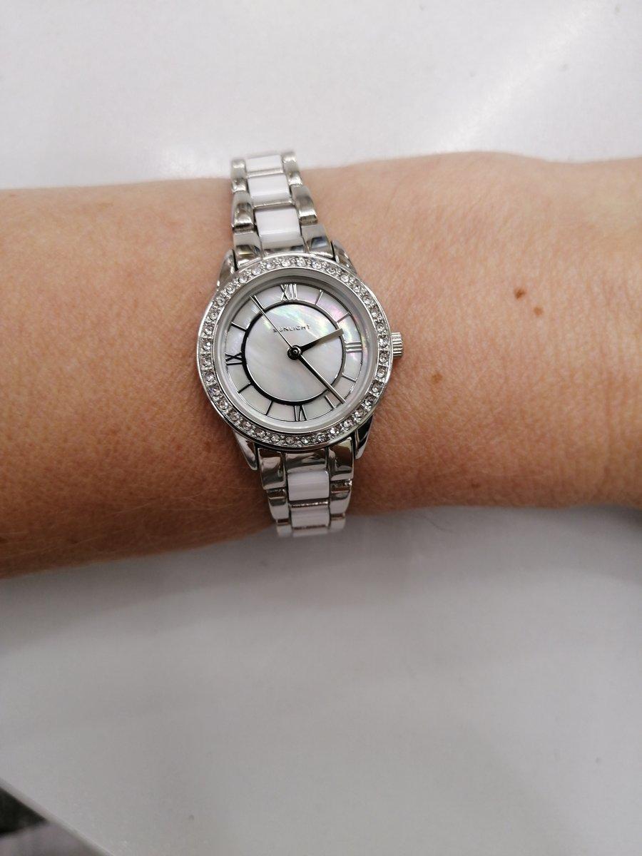 Часы с керамический браслетом!