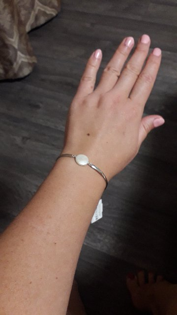 Браслет серебро с жемчугом