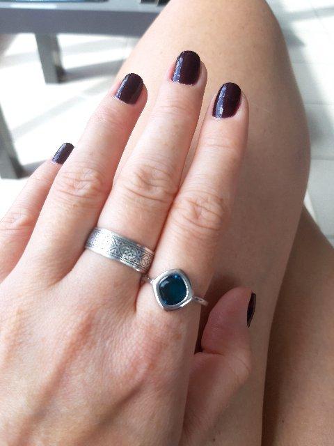 Кольцо минималистичное